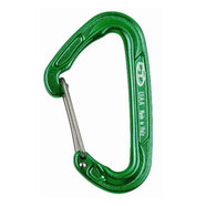 Climbing Technology Fly-weight drótnyelvű karabiner zöld