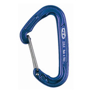 Climbing Technology Fly-weight drótnyelvű karabiner kék