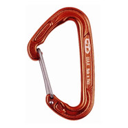 Climbing Technology Fly-weight drótnyelvű karabiner piros